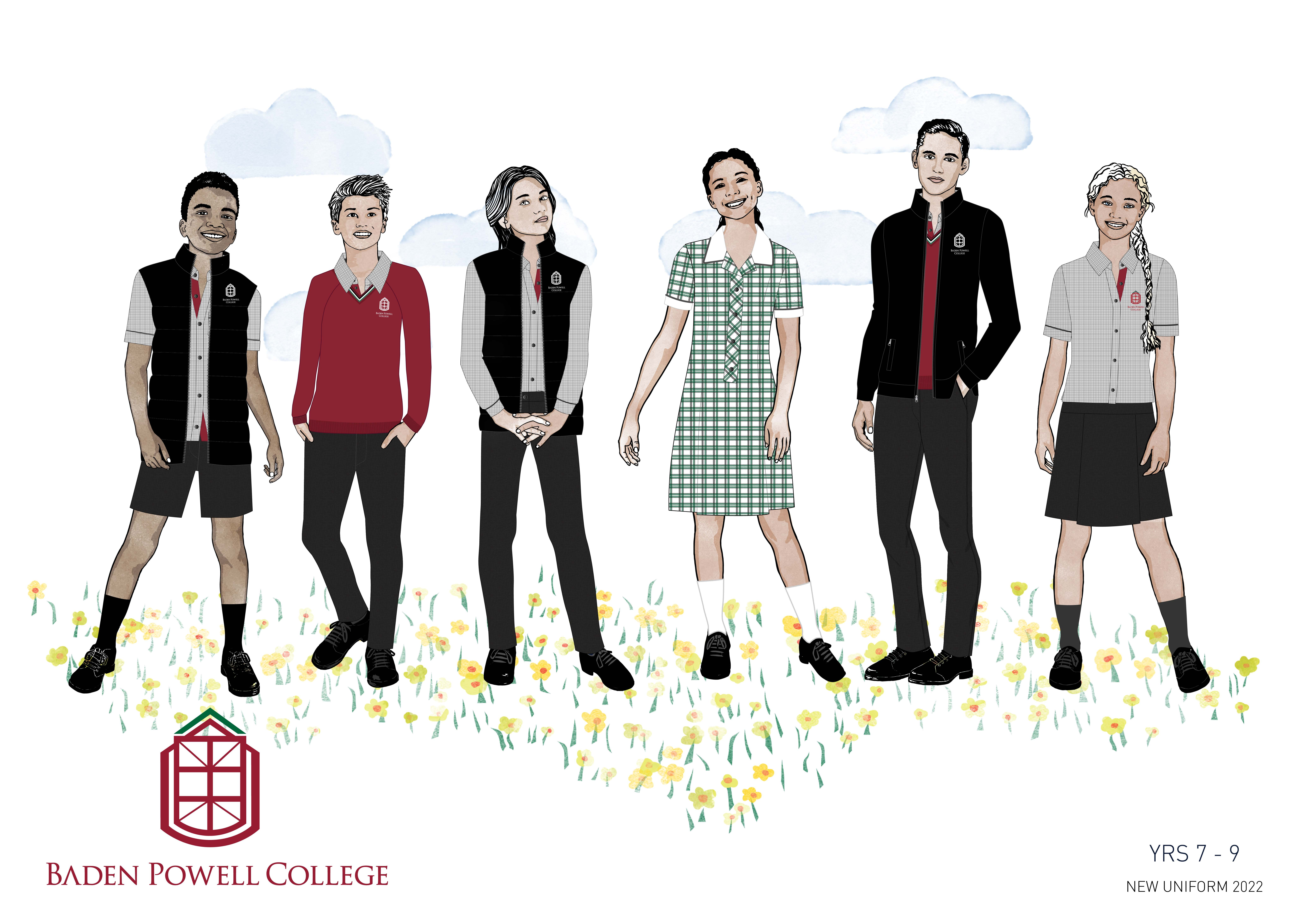 Uniforms Years 7 - 9